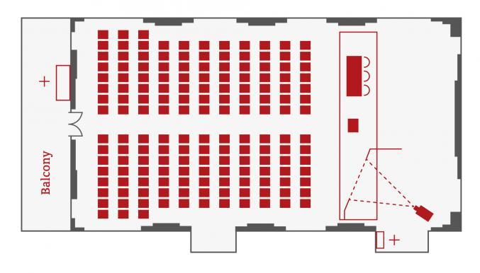the Livery Hall Floorplan