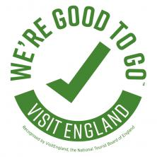"Visit England's ""We're Good To Go"" Certification"